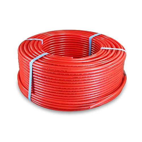 Pex Tubing Oxygen Barrier Coil Hydronic Radiant Floor Heat Pipe and Water Tube 1 Inch x 300 Feet, Red Category A (Floor Heat Boiler compare prices)