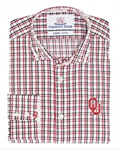 Oklahoma University Dress Shirt 200 (Mens) by Oklahoma University Sooners