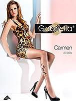 Gabriella Elegant Mesdames Collants à Motif de Côté GB 369 20 DEN