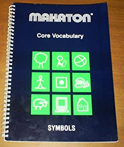 Makaton Core Vocabulary Symbols Amazon Co Uk The