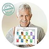 Tablette SAMSUNG et jeux de mémoire seniors, version Joe difficile Tab4 10.1pouces...