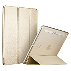 iPad Mini 4 Case,ESR Yippee Color Plus Smart Cover with Built in Translucent Hybrid Back Cover [Corner Protection][Ultra Slim][Auto Wake up/Sleep Function] for iPad Mini(Champagne Gold)