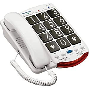 Clarity Amplified Corded Telephone With talk Back And Braille Characters by Original Equipment Manufacturer