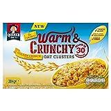 Quaker Warm Crunchy Golden Crunch 8 x 48g