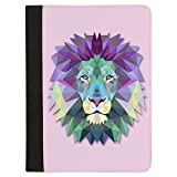 Padfolio Letter Paper Pad Case Triangle Lion King of the Jungle