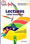 Lectures : cahier d'exercices CE1