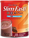 Slim Fast 3-2-1 Plan (Formerly Optima) Chocolate Royale Shake Mix Powder - 31.18 oz