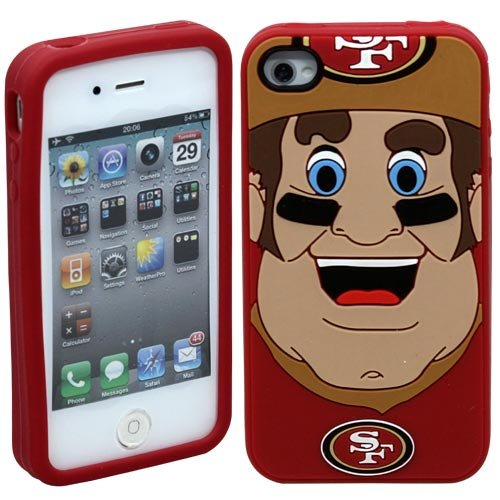 NFL San Francisco 49Ers Mascot Soft Iphone Case at Amazon.com