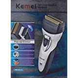 Double Bladed Kemei Rechargeable Trimmer & Shaver for Men Hair Trimmer Beard Trimmer Moustache Trimmer Waterproof...