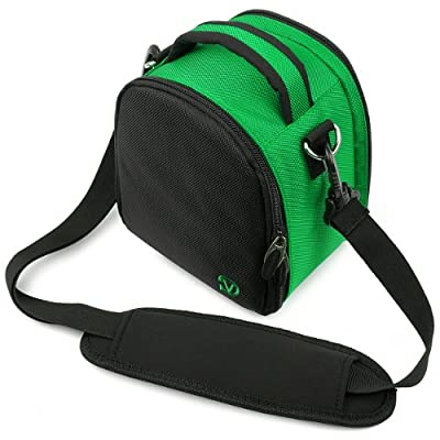 Forest Green VanGoddy Laurel SLR Camera Carrying Bag for Canon EOS Rebel T5 Digital SLR Camera