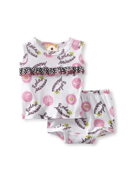 Country Baby Girl Ruffle Tank And Bloomer Set
