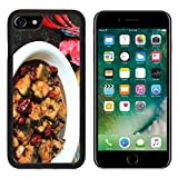 Luxlady Premium Apple iPhone 7 iPhone7 Aluminum Backplate Bumper Snap Case Celery Seeds Food Diet Catering Image 328919