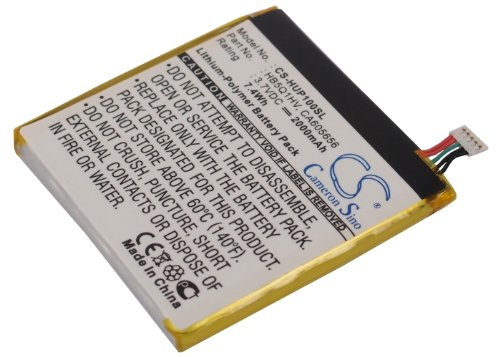 Battery2Go Battery Fit To Huawei Hb5Q1Hv, Ascend D Quad Xl, Ca605656, Ascend P1, Ascend D1 Quad Xl, U9200E