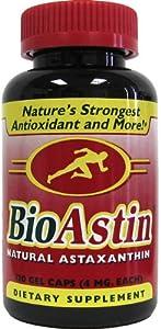 Nutrex Hawaii BioAstin Natural Astaxanthin 4mgs., 120 gel caps
