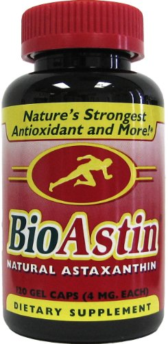 Nutrex Hawaii BioAstin Natural Astaxanthin 4mgs