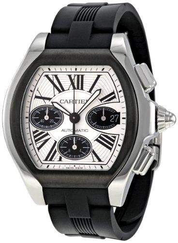Cartier Men's W6206020 Roadster Silver Dial Watch