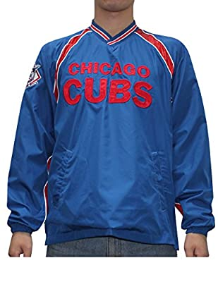 MLB CHICAGO CUBS Mens Fall / Winter Wind Breaker Jacket with Lining