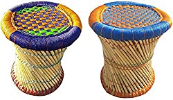 SPHINX CANE BAR STOOL FOR INDOOR/OUTDOOR - SET OF 2
