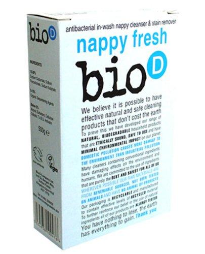 Bio-D Nappy Fresh Sanitizing Powder 500 g (Pack of 12)