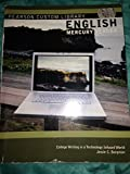 img - for English Mercury Reader; College Writing in a Technology Infused World book / textbook / text book