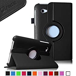 Fintie (Black) 360 Degrees Rotating Stand Case Cover for Samsung Galaxy Tab 2 7.0 inch Tablet -- Multiple Color Options
