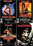 Rambo Complete DVD Collection: First Blood / Rambo 2 / Rambo 3 / Rambo 4 + Extras