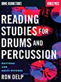 img - for Rhythm Studies for Drums and Percussion: Rhythms and Multi-Pitches (Drums: Reading Studies) book / textbook / text book