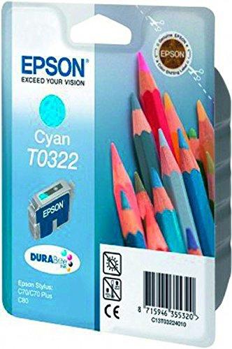 Epson C13T032240 - Cartouche d'encre cyan de marque type T032240