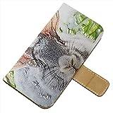 Animali Selvatici 10087, Texture Portafoglio Magnetico Flip Custodia in Pelle Stand Wallet Case Cover Shell Borsa...
