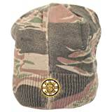 Reebok NHL Camo Bill Front Knit Hat / Beanie (Boston Bruins) at Amazon.com