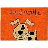 Xclou 274560 Kokosmatte Coco Fun 60 x 40 cm Hund