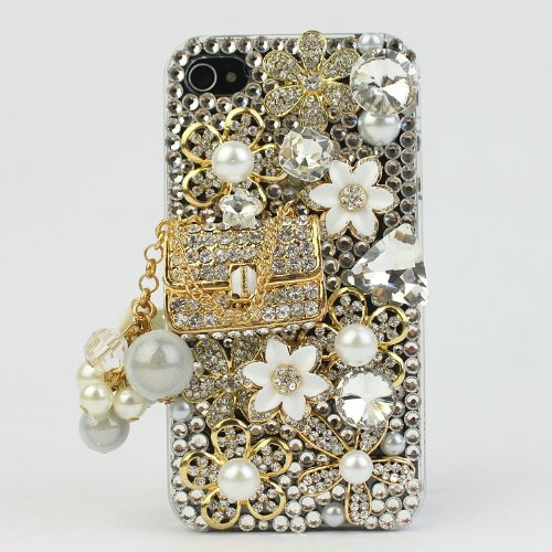 Nova Case 3D Bling Crystal iPhone Case for AT&T
