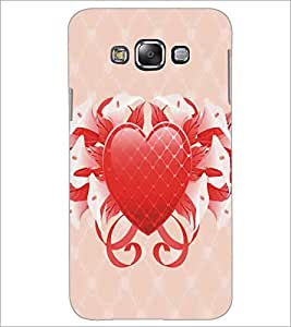 SAMSUNG GALAXY GRAND 3 HEART Designer Back Cover Case By PRINTSWAG