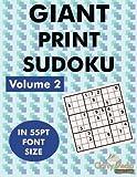 Giant Sudoku Volume 2: 100 sudoku puzzles in giant print 55pt font size