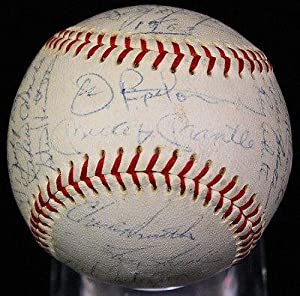 Autographed Mickey Mantle Baseball - 1968 68 Team By 33 W Ford - JSA Certified -... by Sports Memorabilia