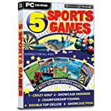 5 Sports Games (PC CD)by Idigicon
