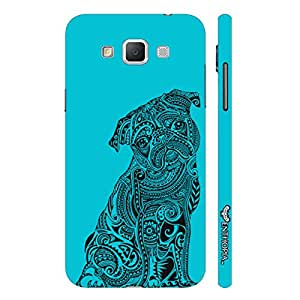 Samsung Galaxy Grand 3 Dog Tattoo designer mobile hard shell case by Enthopia