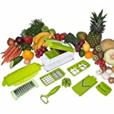 Slicer Dicer Fruit And Vegetable Chopper - 12 In 1