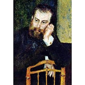 (11x17) Pierre Auguste Renoir Portrait of the Painter Alfred Sisley Art Print Poster