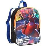 "Big Hero 6 Disney Baymax Childrens 10"" Lenticular Backpack For School Or Everyday Bag"