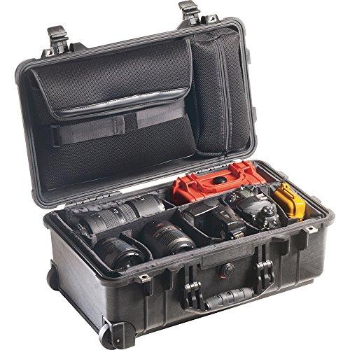 Pelican Products 1510-007-110 Medium Studio Case 1510LOC with Padded Dividers (Black) (Pelican Case Medium compare prices)