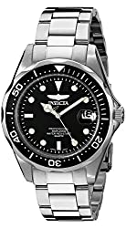 Invicta Pro Diver Analog Black Dial Mens Watch - 8932