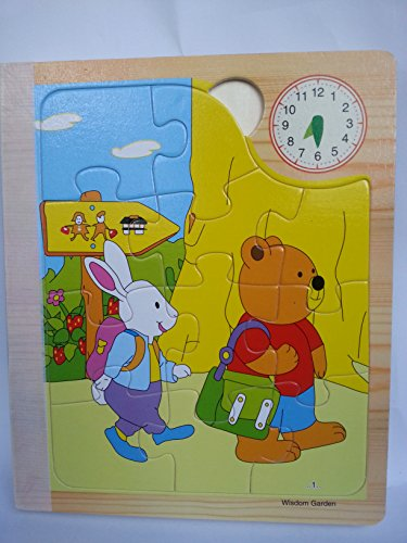 Hongxin's Wooden Book,Poppet Bear's Daily Family Life Jigsaw Puzzle