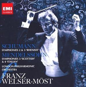Schumann / Mendelssohn: Symphonies