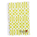 2013-2014 bloom Academic Year Daily Day Planner Fashion Organizer Agenda August 2013 Through July 2014 Avocado Trellis ~ bloom daily planners