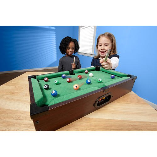 Stats 16 inch Table Top Billiards (Stats Pool Table compare prices)
