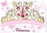 Santoro Childs Greeting Card and Costume Mask, Princess (SMB022)