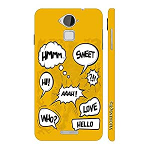 Enthopia Designer Hardshell Case Whose There? Back Cover for Coolpad Note 3