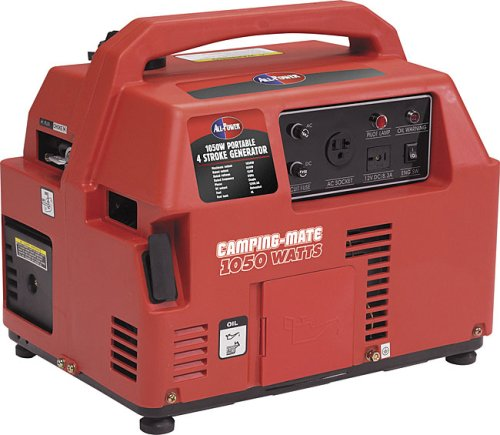 All Power America APG3006 1,050 Watt 2.4 HP OHV 4-Cycle Gas Powered Portable Camping Generator