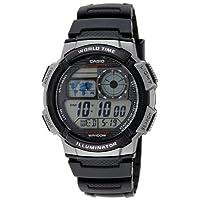 Casio Youth Stopwatch Digital Black Dial Men's Watch - AE-1000W-1BVDF  (D081)